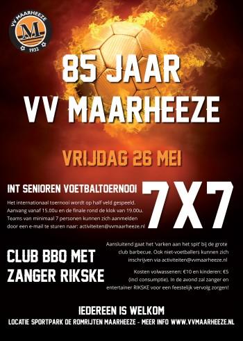 7x7 toernooi VV Maarheeze